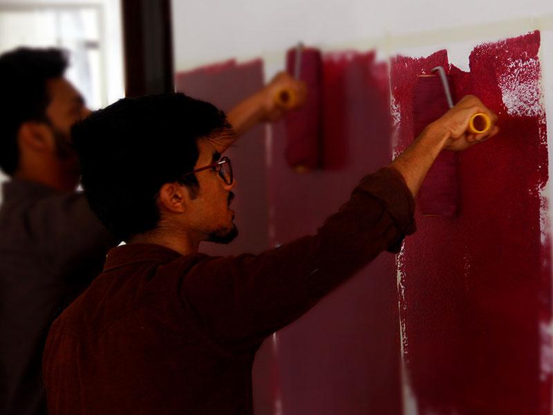 Asian Paints Workshop Bsc Interiordesign Vismayam College