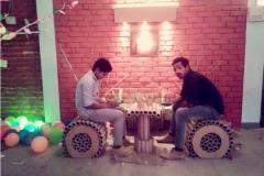 colours-day-celebration-in-college-vismayam-chair-design-interior-designing-college