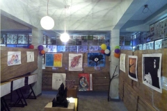 colours-day-celebration-in-college-vismayam-drawing-exhibition-interior-designing-college