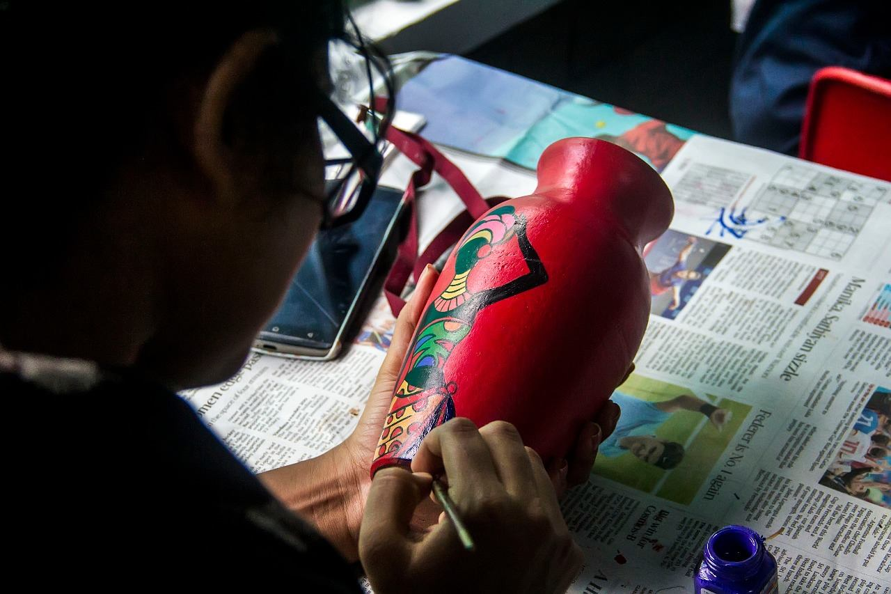 Pottery painting workshop6