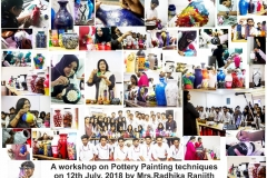 Pottery painting workshop 2018