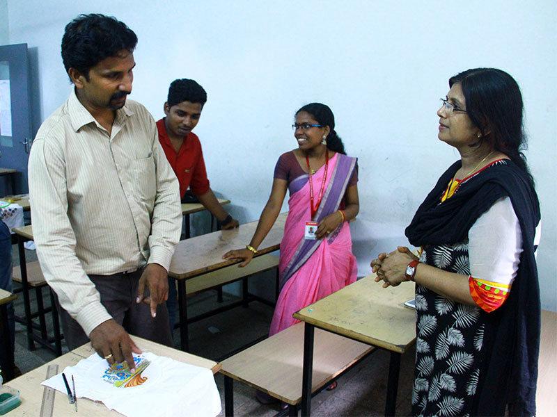 workshop_on_arts_vismayam college_diploma_students_Interior_design_and_architecture_6