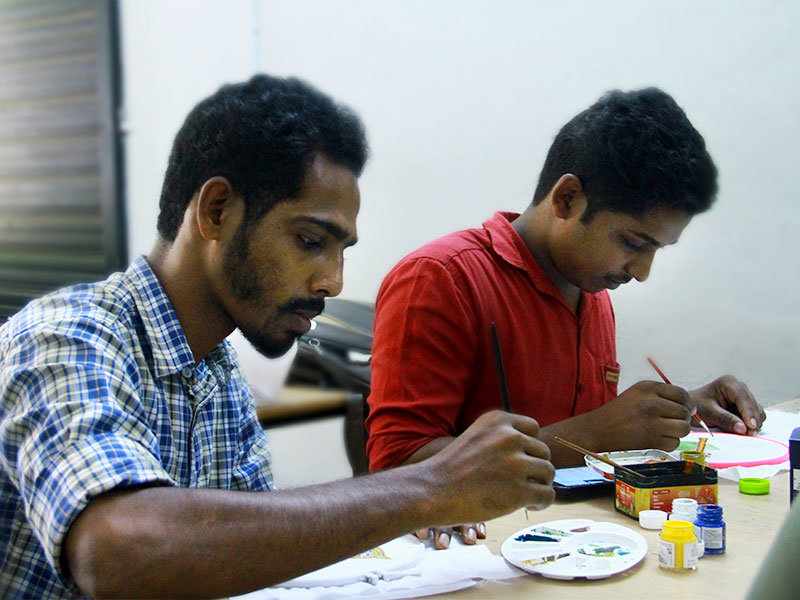 workshop_on_arts_vismayam college_diploma_students_Interior_design_and_architecture_7
