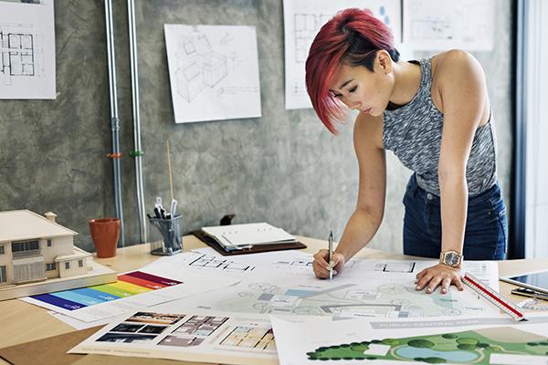 interior design vs fashion design salary scheme