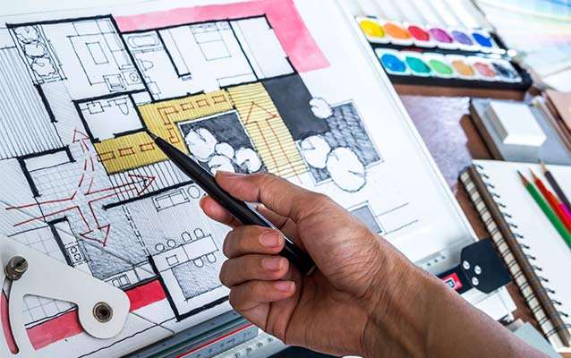 interior design diploma courses in kerala